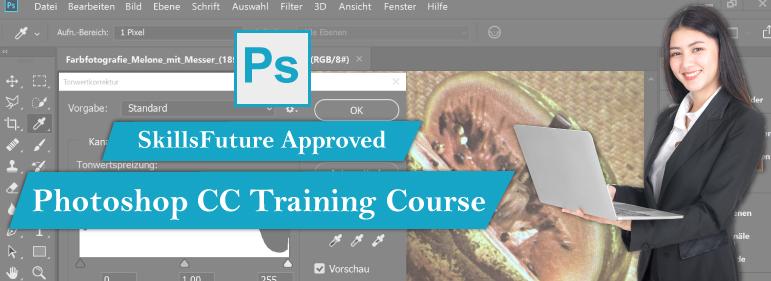 Adobe Photoshop CC Training Course Singapore